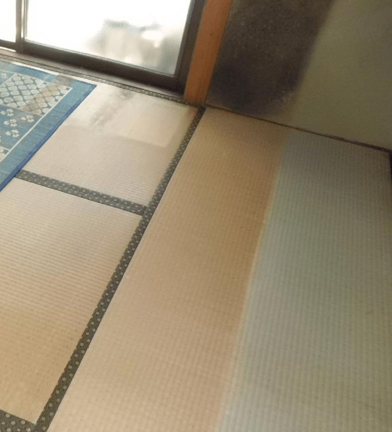 3.滑りの防止及び移動の円滑化等のための床または通路面の材料の変更。 - リフォーム前