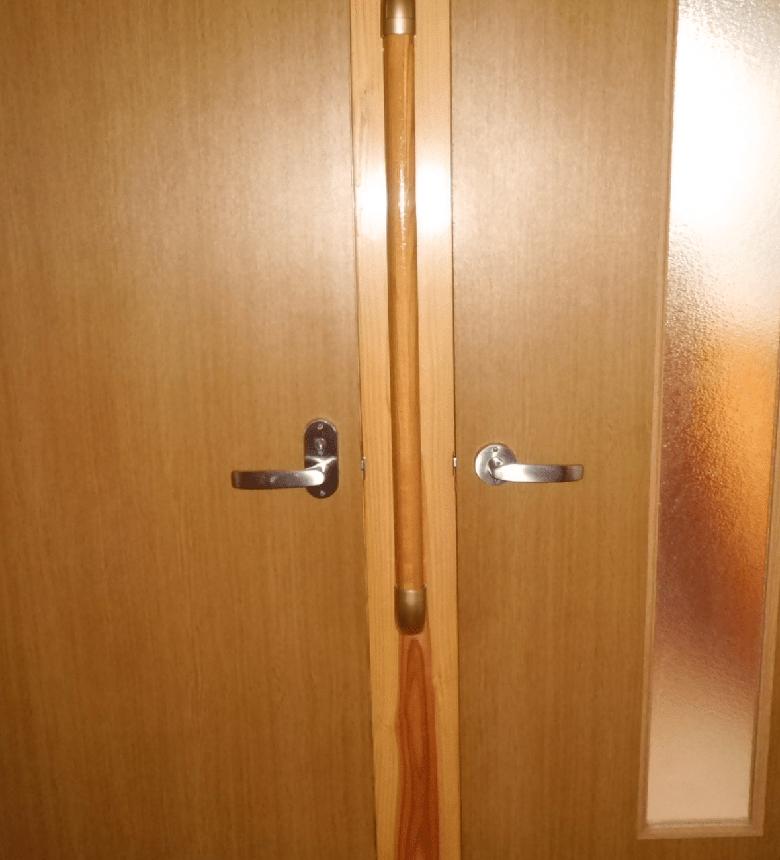 4.引き戸等への扉の取り替え。 - リフォーム前
